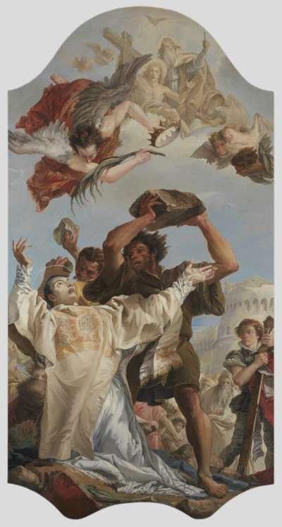 Steinigung des hl. Stephanus (Kopie von Katrin König)