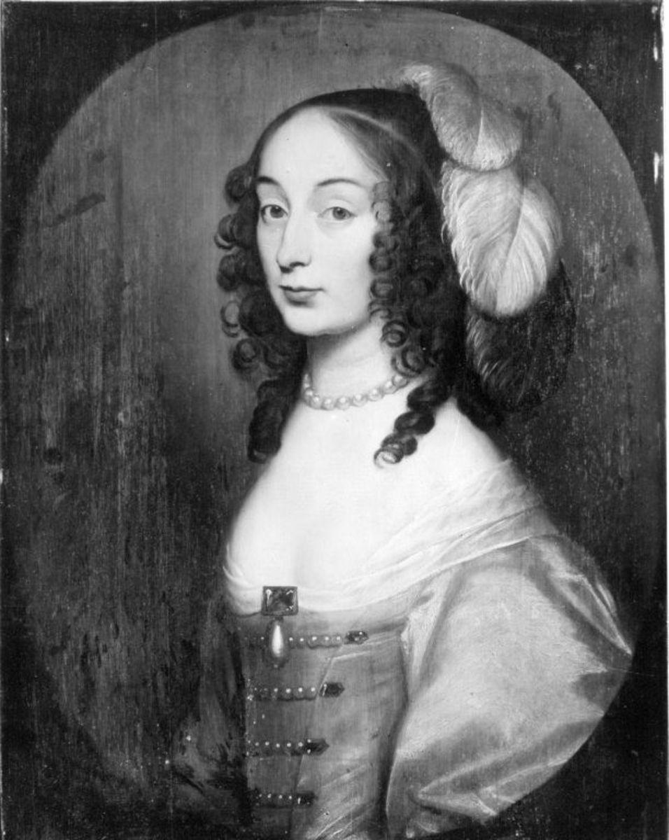 Bildnis der Louise Hollandine, Prinzessin von der Pfalz