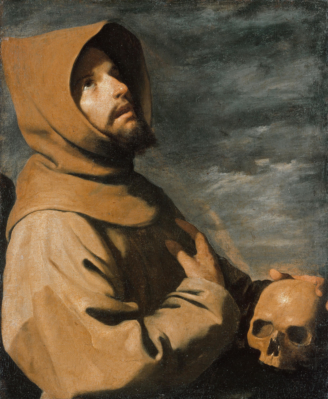 Der hl. Franziskus in Ekstase