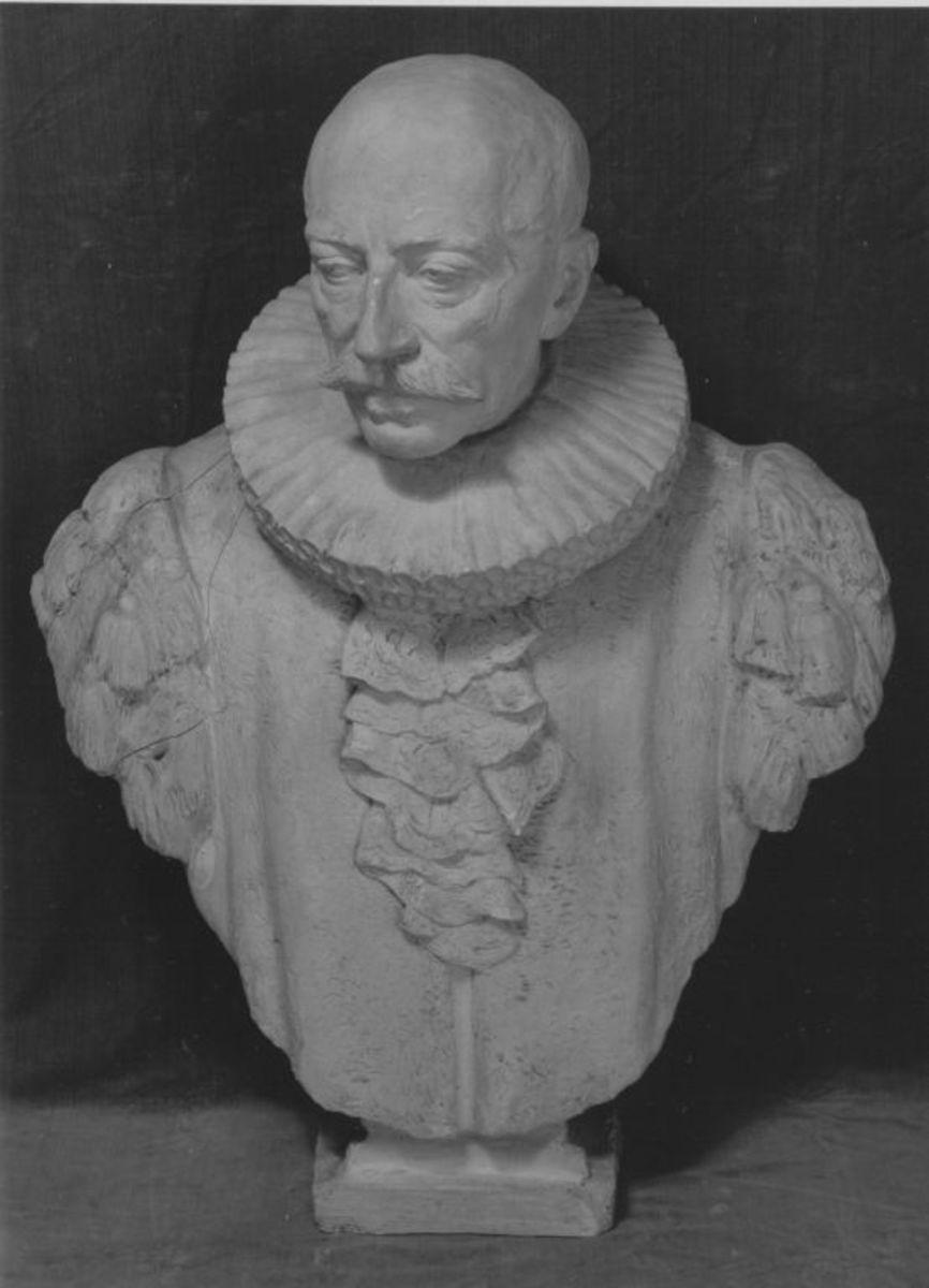 Heinrich Burchard, Bürgermeister von Hamburg (Modell der Büste an der Michaeliskirche in Hamburg)