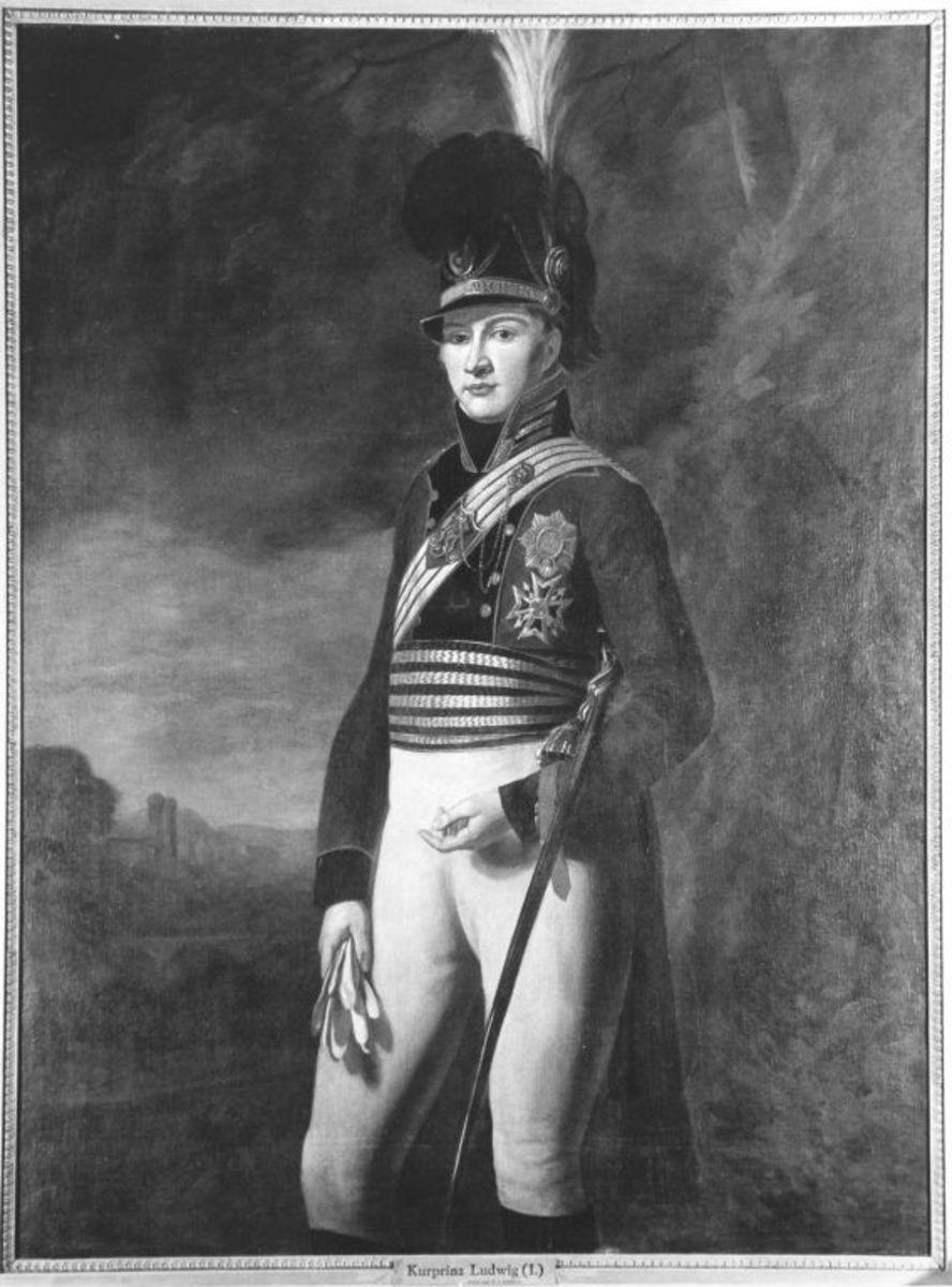 Kronprinz Ludwig von Bayern (Kopie nach Wilhelm von Kobell)