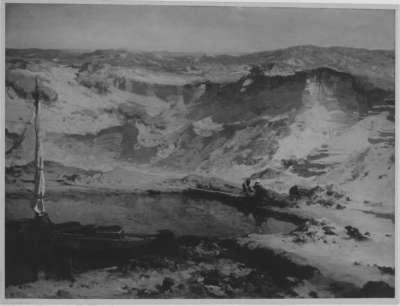 Sandgrube in den Dünen