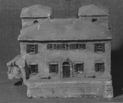 Modell für das Ferienhaus von Adolf von Hildebrand in Forte dei Marmi