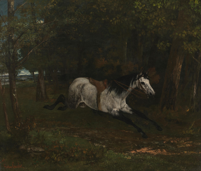 Durchgehendes Pferd