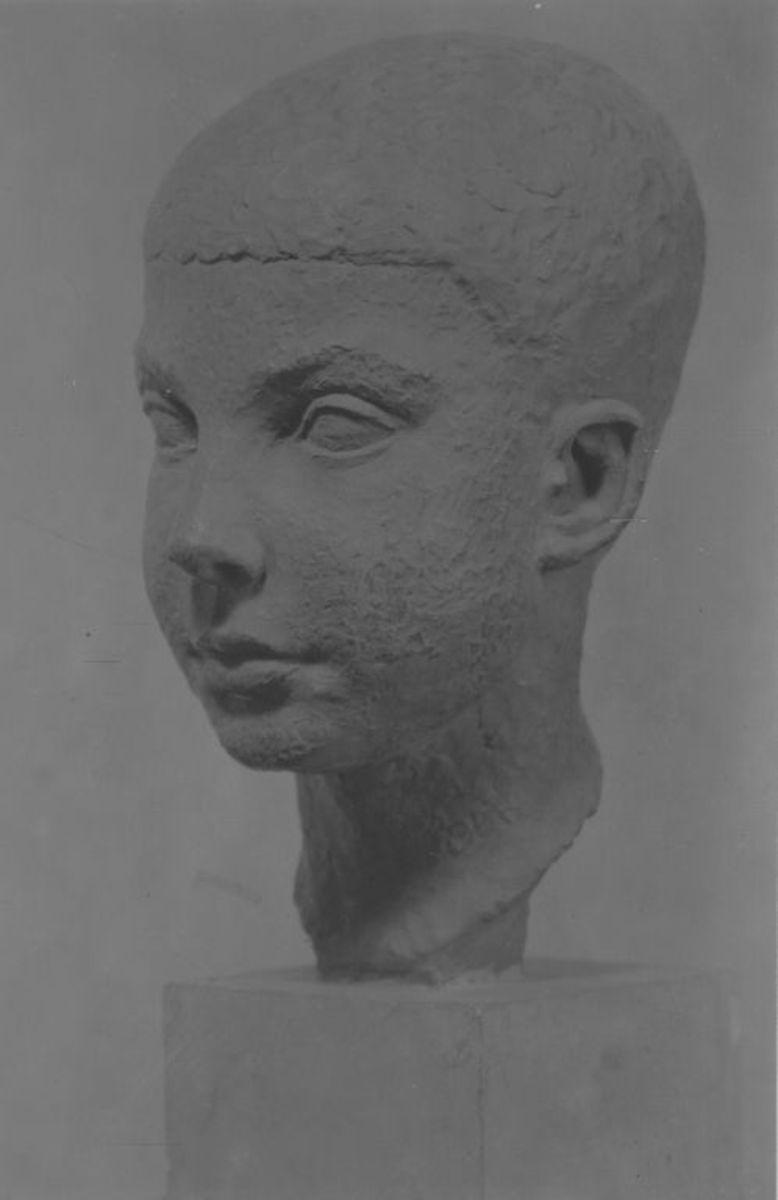Porträt des Sohnes von Prof. Georg Weiß, Jena