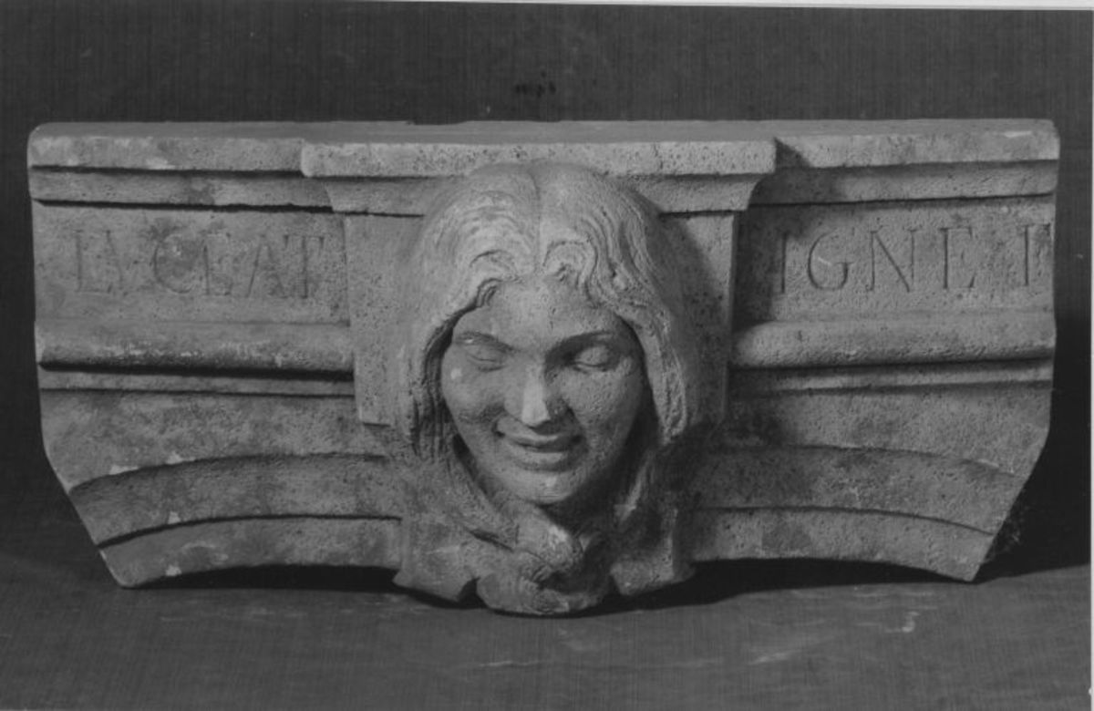 Originalmodell für den Kamin des Konzertsaals im Garten der Villa Boveri in Baden (Mittelteil)