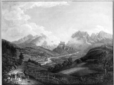 Burg Werfen bei Salzburg