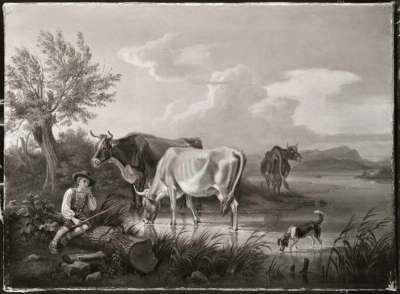 Rinderhirte am Starnberger See