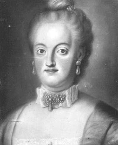 Maria Josepha Anna, Gemahlin des Markgrafen Ludwig Georg von Baden