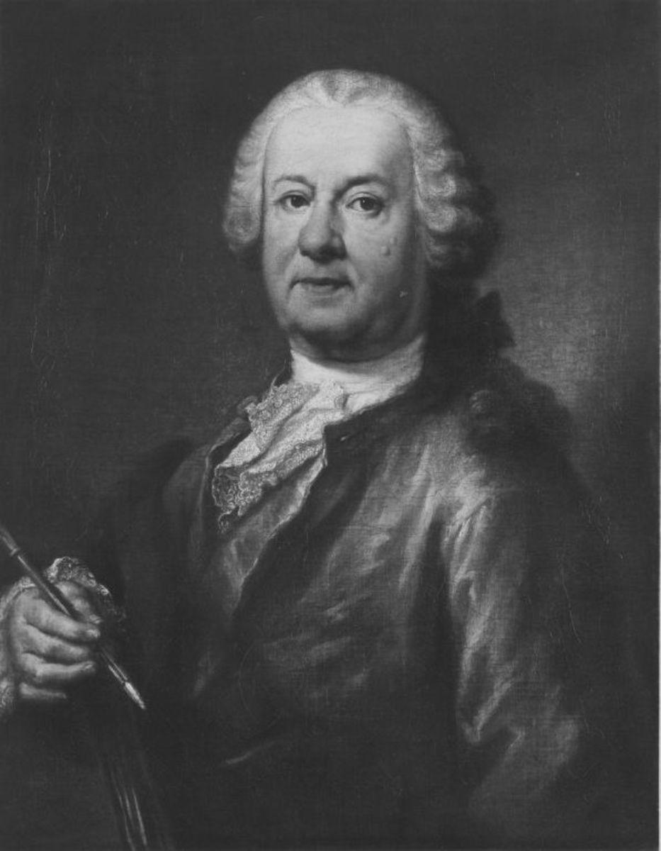Bildnis des Malers Balthasar August Albrecht