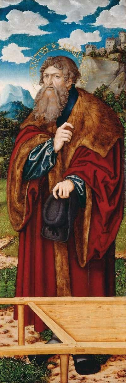 Magdalenenaltar: Hl. Lazarus