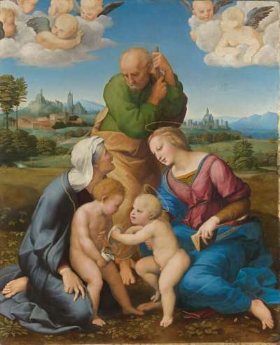 Die Heilige Familie aus dem Hause Canigiani
