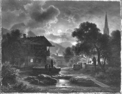 Mondnacht in Partenkirchen