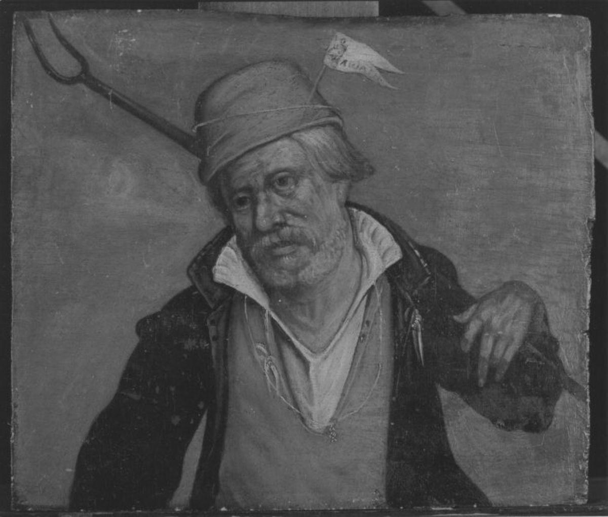 Ein Ackerbauer