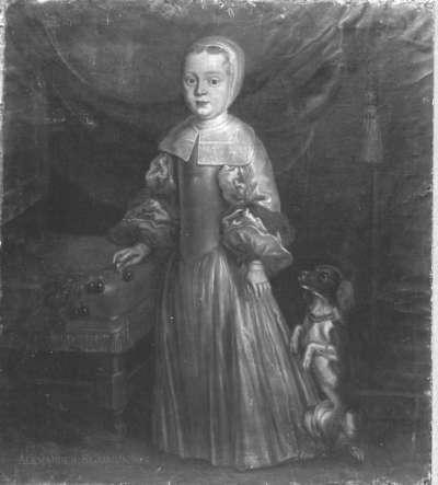 Kinderbildnis des Alexander Sigismund von Pfalz-Neuburg (1663-1737)