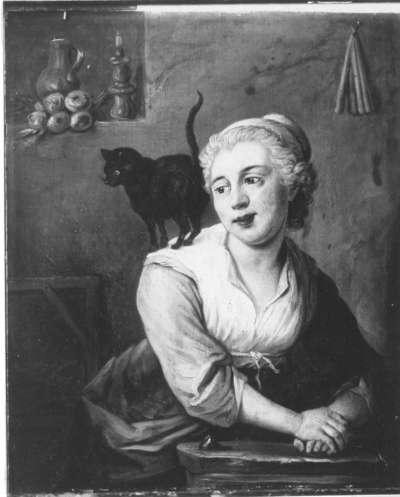 Bildnis der Gemahlin des Malers