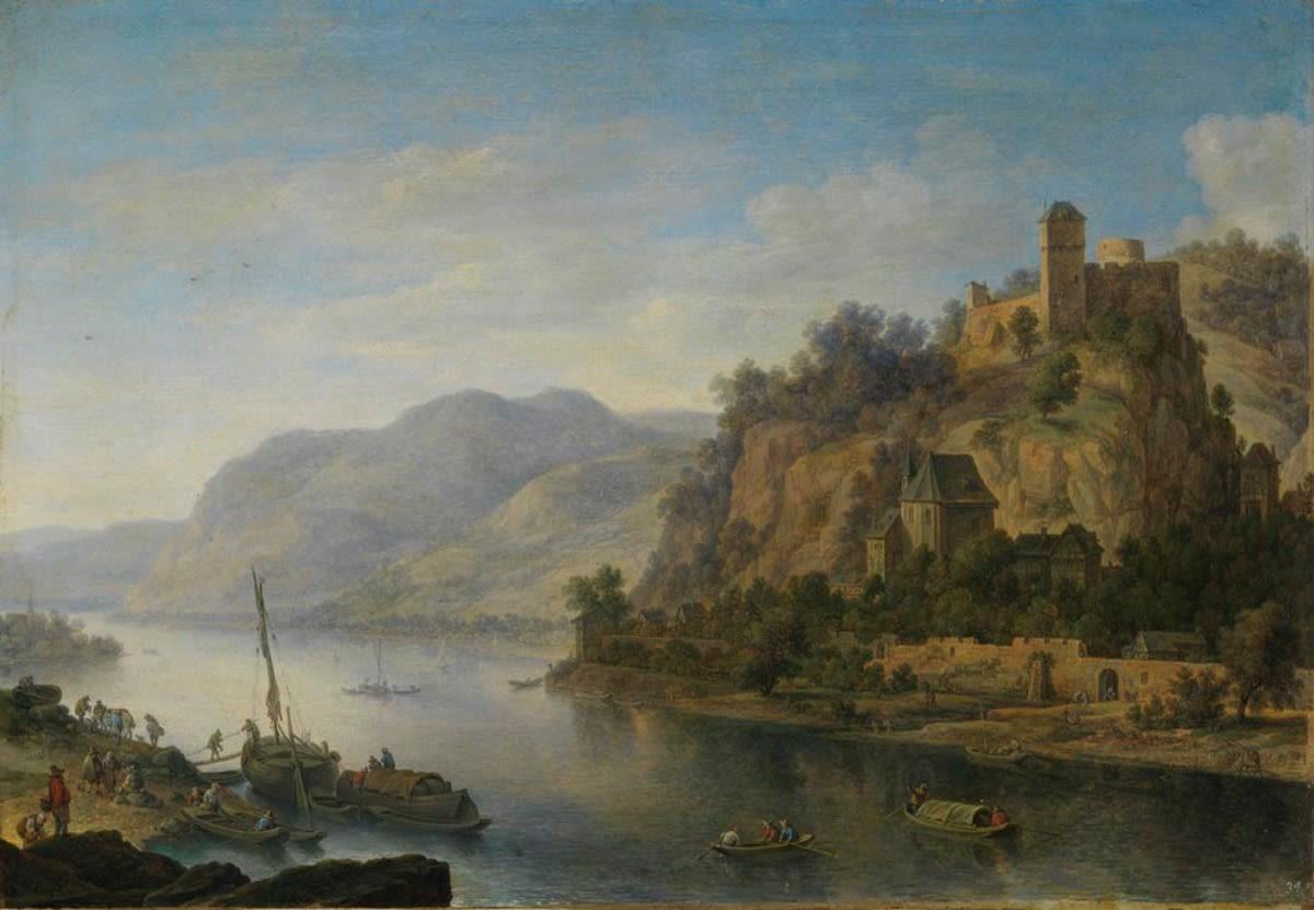 Ansicht von Heimbach am Rhein