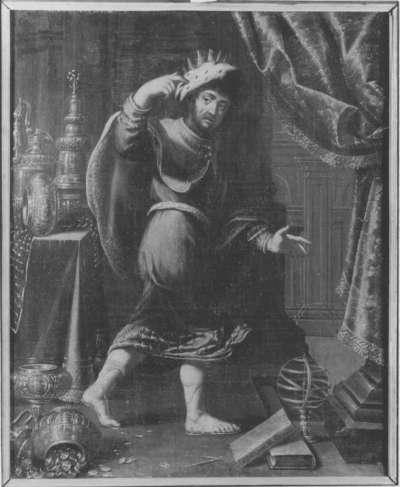 Allegorie: Bildnis eines Königs