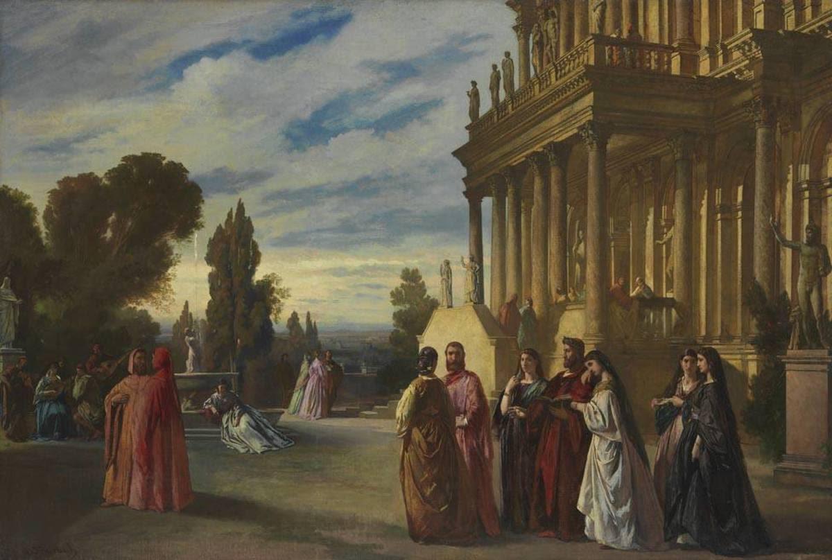 Der Garten des Ariost