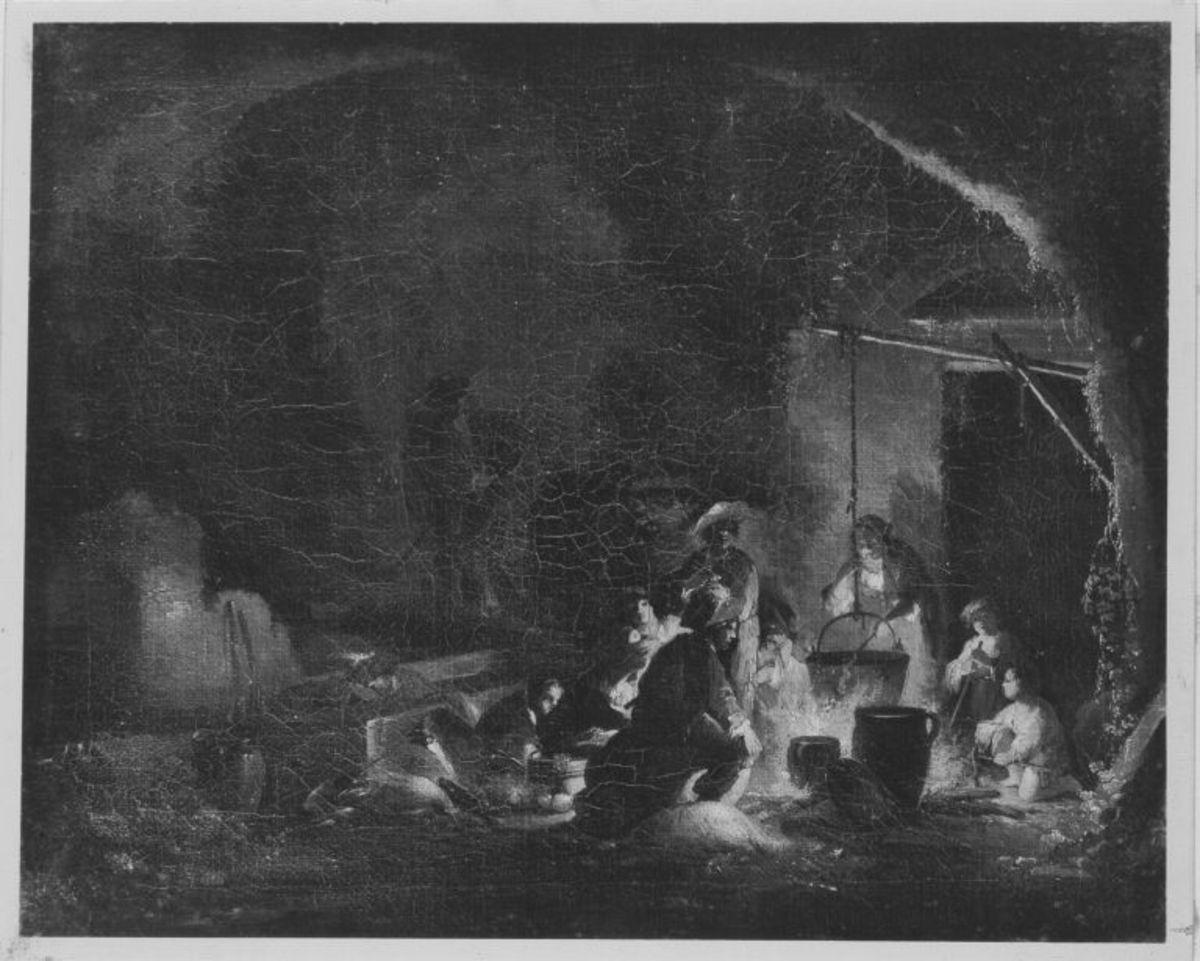 Zigeuner beim Nachtmahl