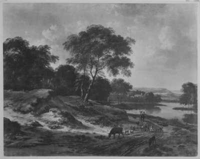 Landschaft mit Hirten