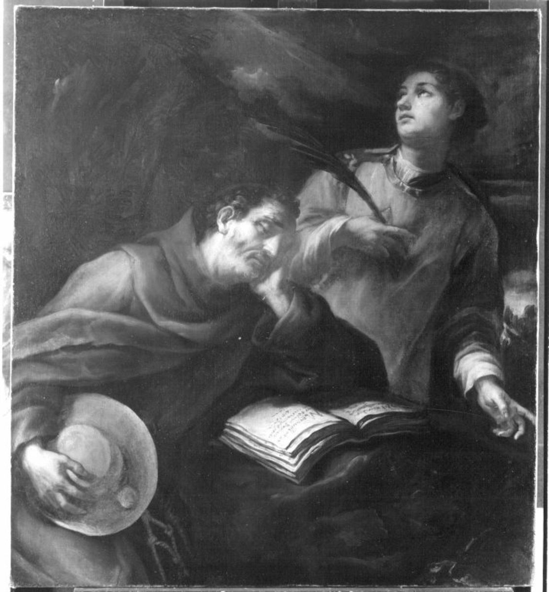 Die hll. Bonaventura und Stephanus