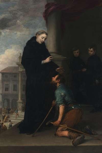 Der hl. Thomas von Villanueva heilt einen Lahmen