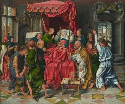 Marientod-Altar: Tod Mariä