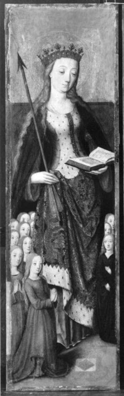 Altarflügel: Hl. Ursula