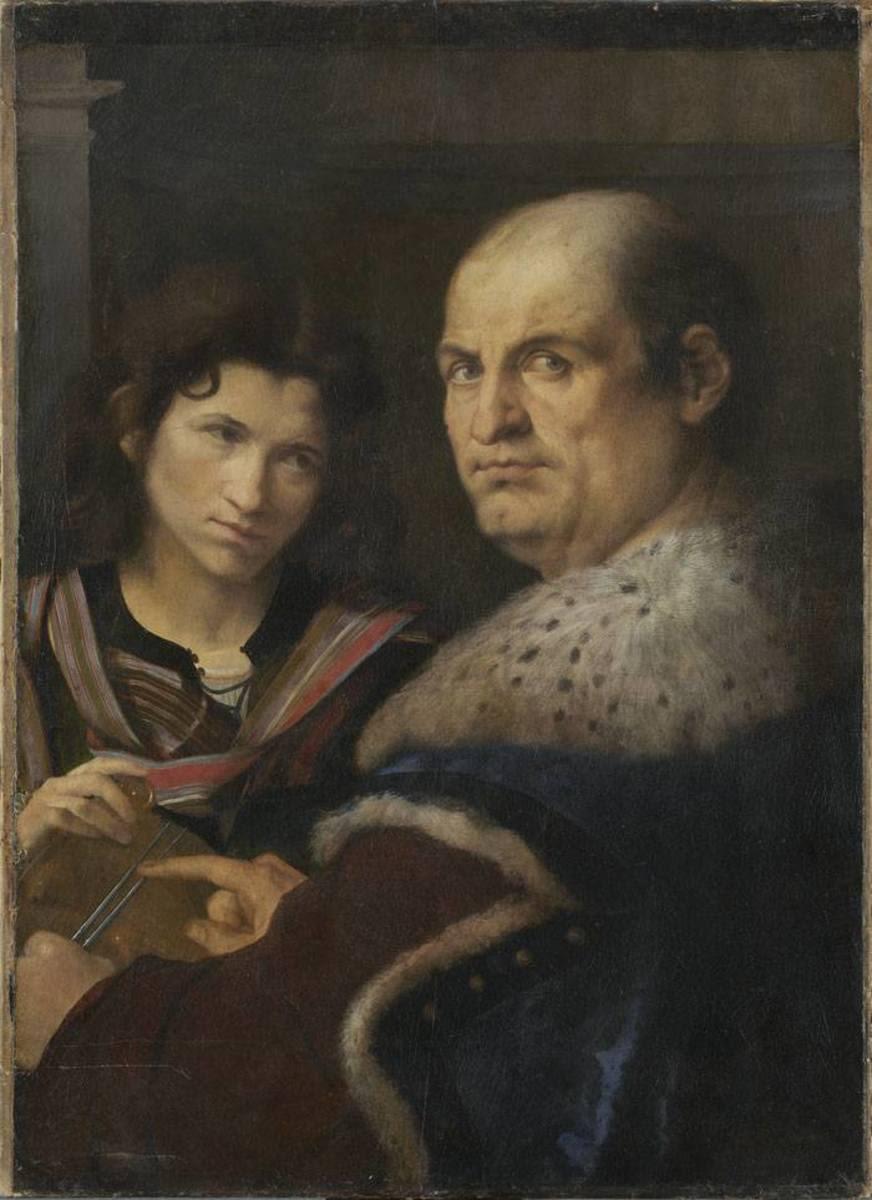 Bildnis eines Venezianischen Senators