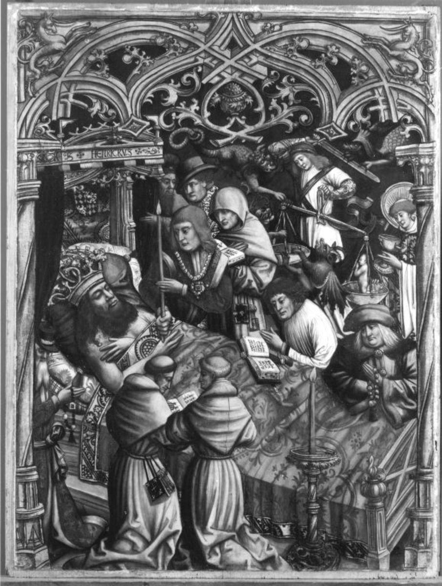 Tod des Kaisers Heinrich