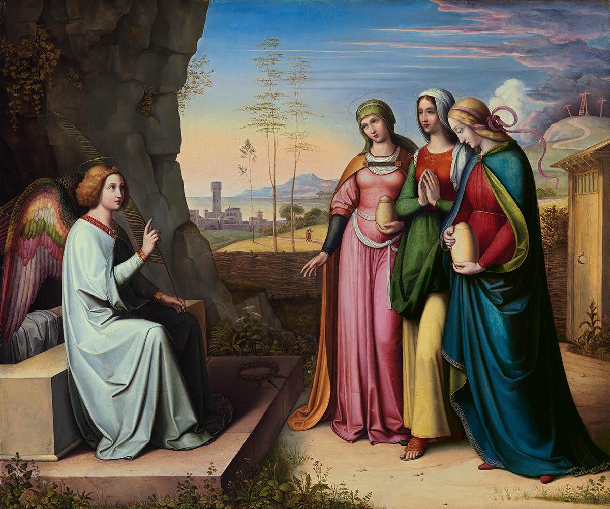 Die drei Marien am Grab