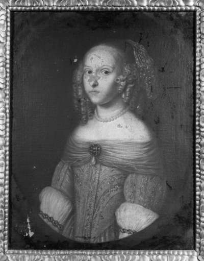 Bildnis der Sophie Eleonore von Hessen-Darmstadt, Tochter des Landgrafen Georg II., Landgräfin von Hessen-Homburg (1634-1663) (?)