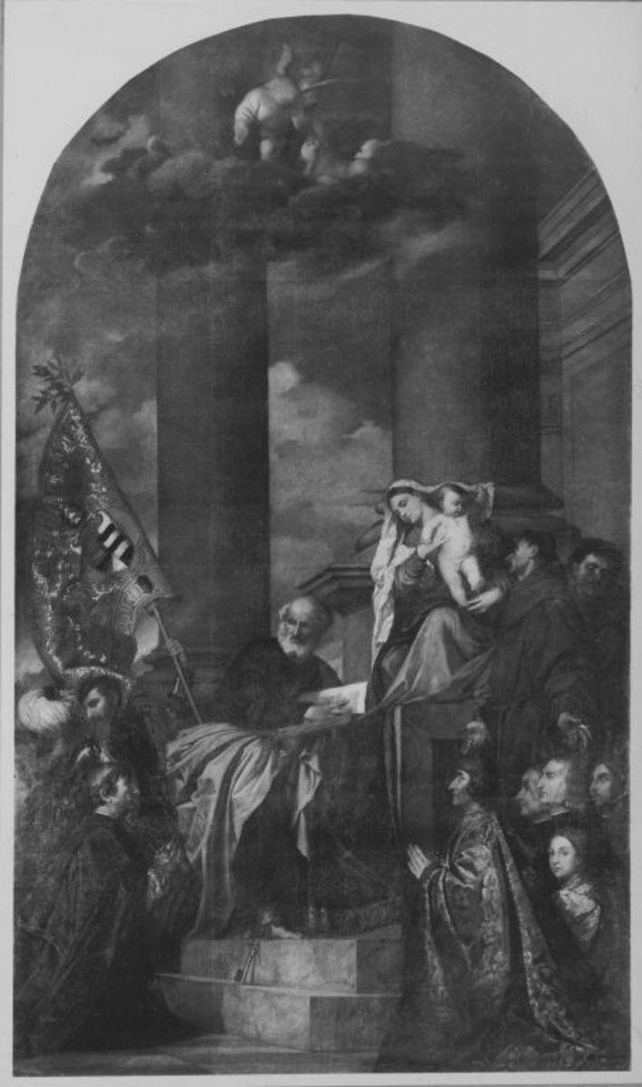 Die Madonna des Hauses Pesaro (nach Tizian)