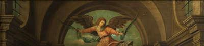 Triptychon von 1505: Anstückung von ca. 1620 (Georg Vischer?)