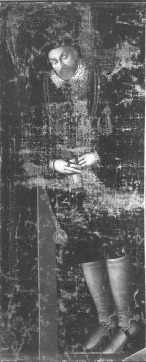 Markgraf Georg Friedrich von Brandenburg-Ansbach auf dem Totenbett