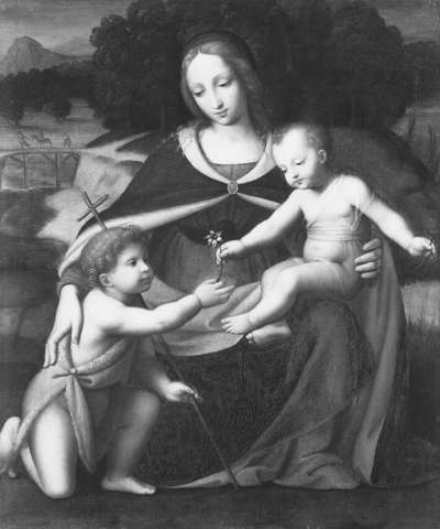 Maria mit Kind und Johannesknaben