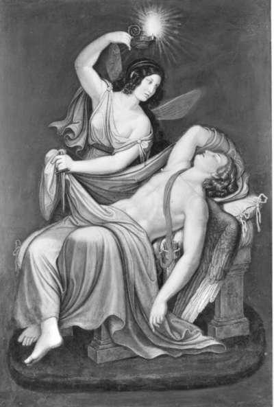 Das Märchen von Amor und Psyche: Psyche erblickt den schlafenden Amor