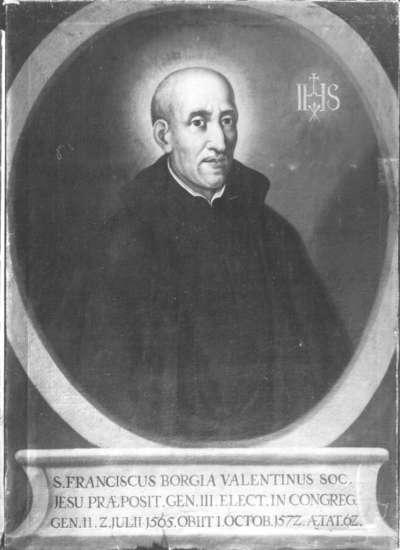 Jesuit Franciscus Borgia