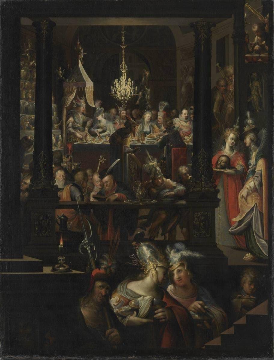 Das Gastmahl des Herodes