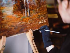 Una giornata nei panni di un pittore