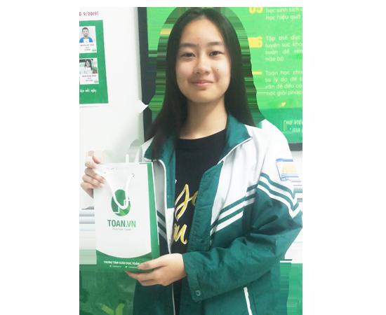 Học sinh tiêu biểu tháng 10/2019-Toán.vn Linh Đàm