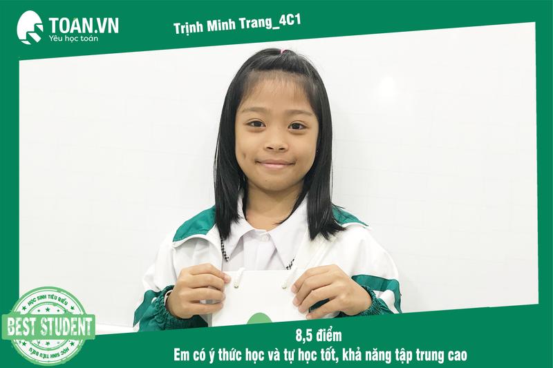 Học sinh tiêu biểu tháng 10/2019 - Toán.vn Nam Hồng