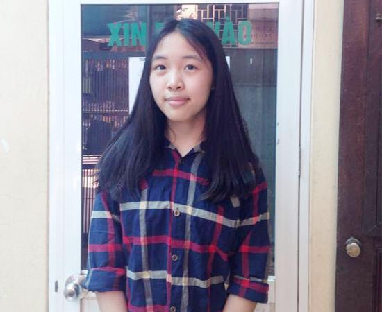 Lê Khánh Linh - Cùng lúc đỗ vào 3 trường THPT Hà Nội-Amsterdam, THPT Chuyên Ngữ, THPT chuyên Sư Phạm