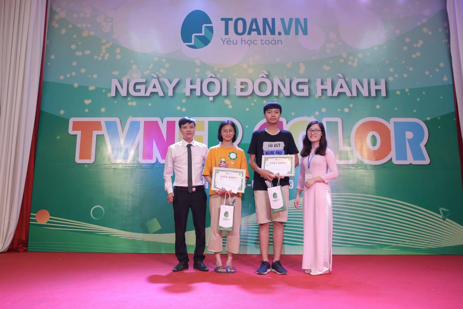 CÔNG BỐ DANH SÁCH KHEN THƯỞNG TVNER TIÊU BIỂU NĂM HỌC 2019- 2020