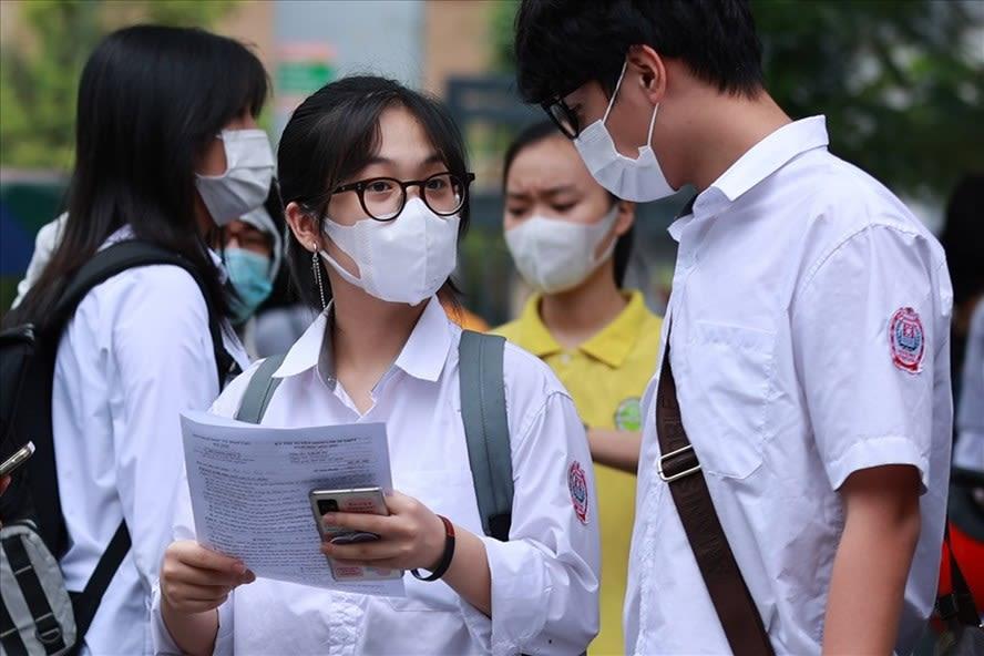Đáp án đề thi môn Toán tuyển sinh vào lớp 10 chuyên - Hà Nội năm 2021