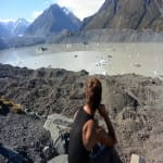 Mt. Cook Gletscher
