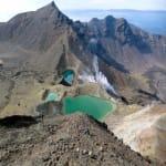 Vulkanseen im Tongariro Crossing