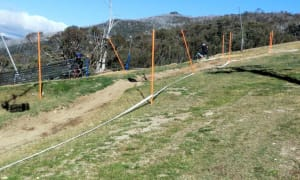 Downhillstrecke in Thredbo