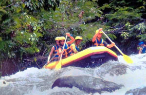 Rafting auf dem Telega Waja 2